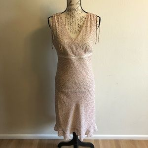 Vintage 90s Sleeveless Floral Grunge Dress Small